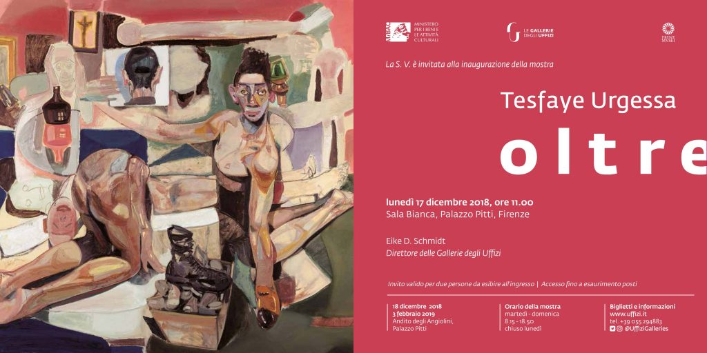 Tesfaye Urgessa: Exhibition in Florence